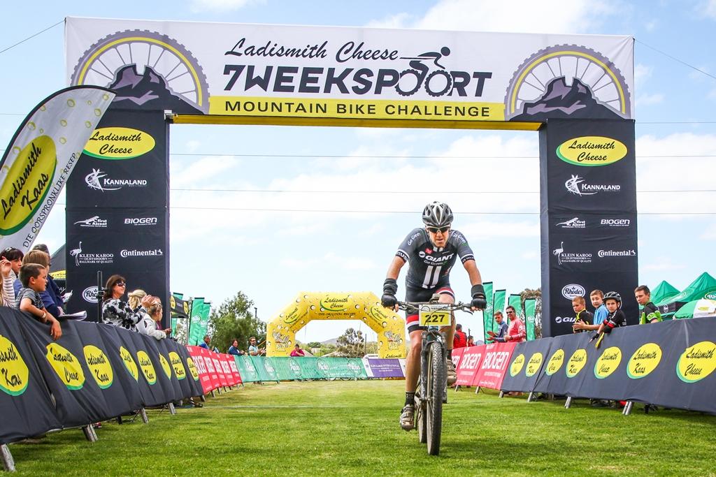 Garrett & De Villiers Storm To 7Weekspoort MTB Challenge Victory